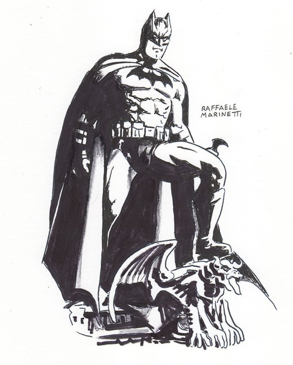 raffaele marinetti - batman
