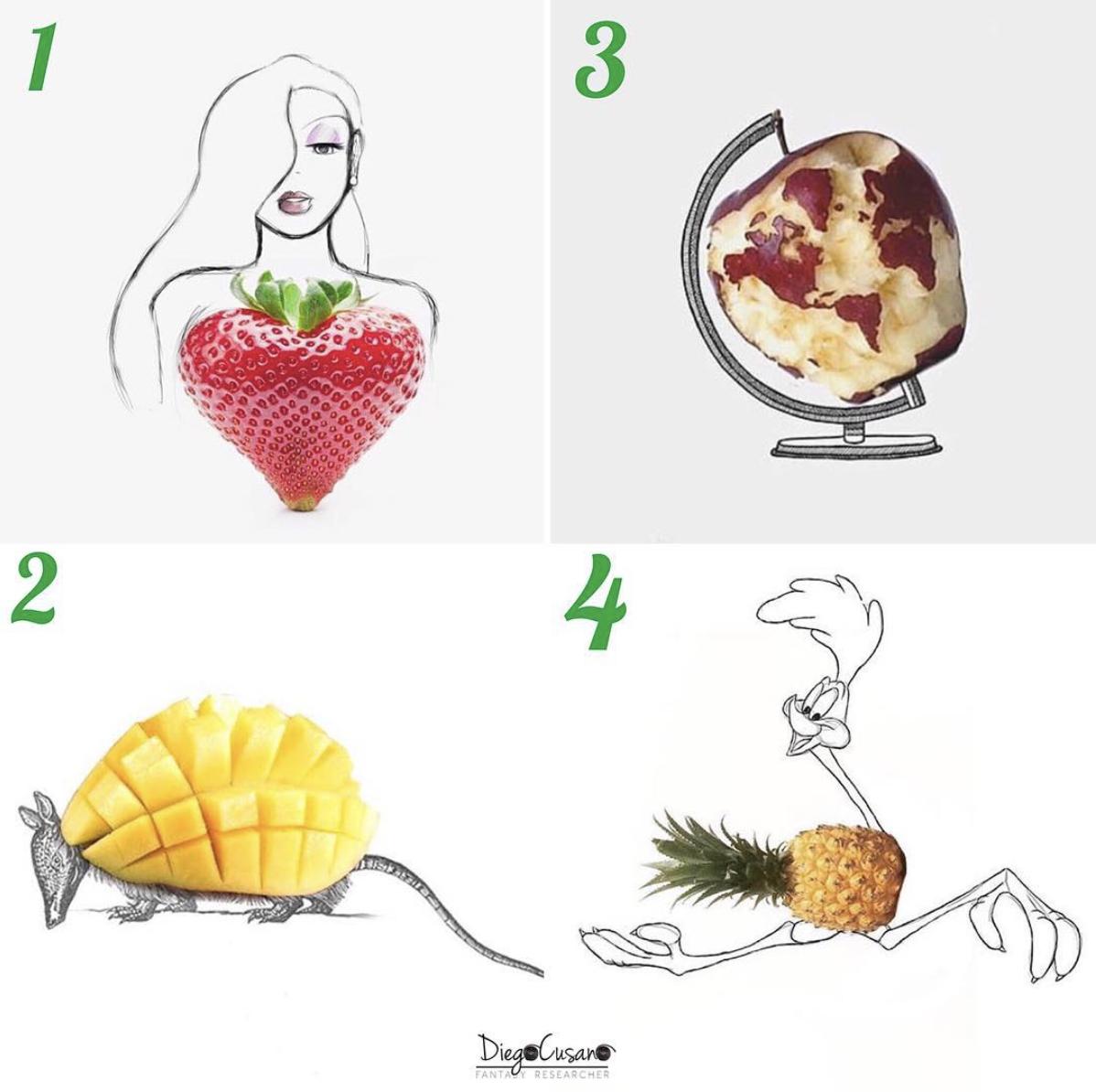 Diego Cusano - frutta