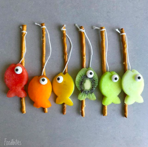 foodart - fish - fruit