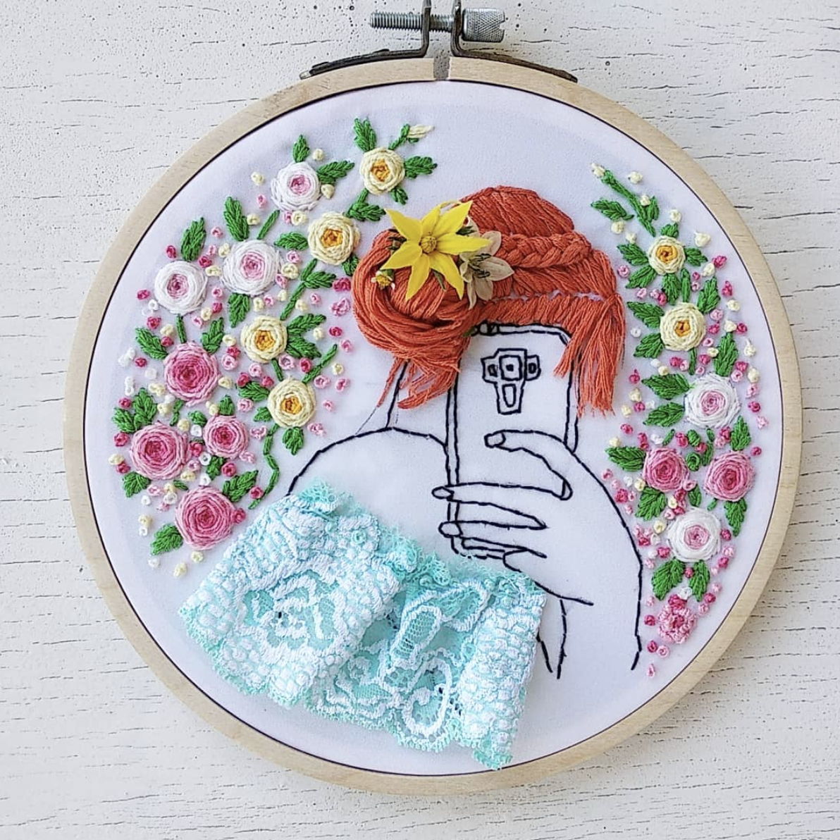 Natasha Mescheryakova-red hair